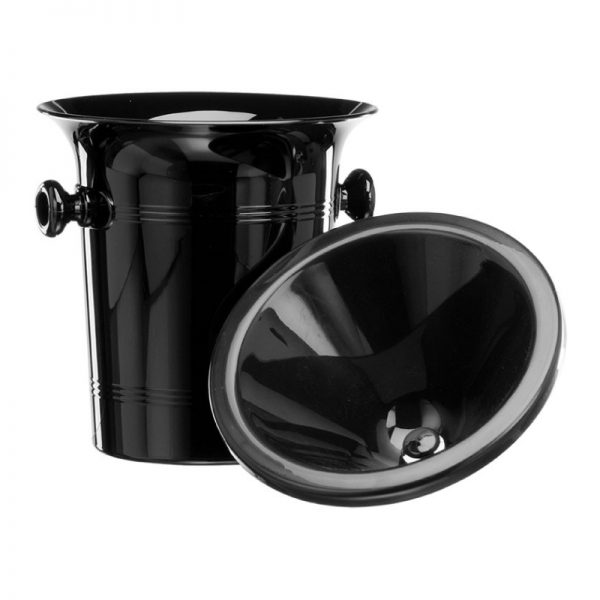 Black-4-litre-Acrylic-Spittoon