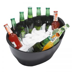 Jumbo-Ovale-Ice-Bowl-Satin-Black
