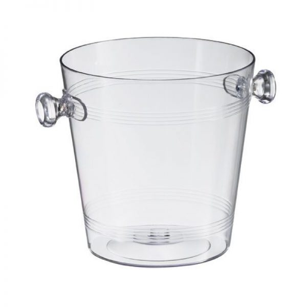 Mini small champagne wine bucket clear