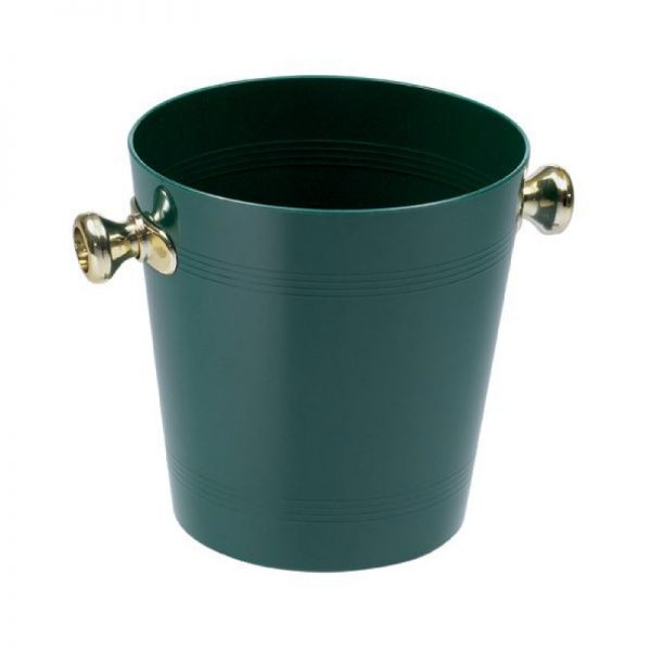 Small wine bucket half bottles green