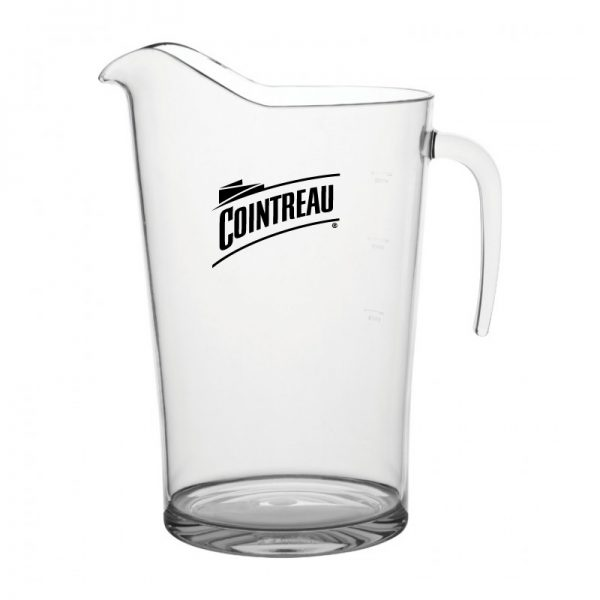 Promotional Plastic Pitcher Printed with logo