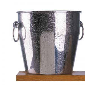 Contemporary-Stainless-Steel-Ice-Bucket