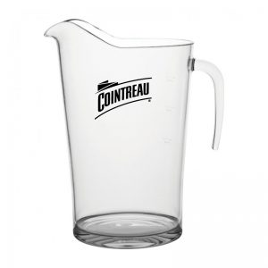 Promotional-Plastic-Pitcher-with-logo