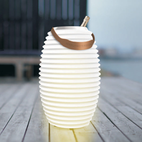 The Lampion Light Wine Cooler & Speaker 3 in 1