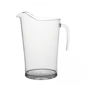 Plastic Promotional Pitcher - 2 Pint