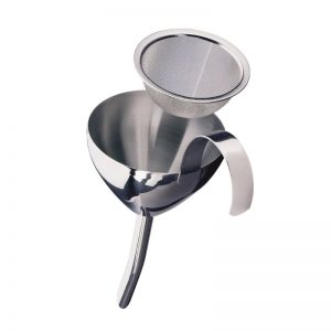 Decanting-Funnel-with-Filter-in-Stainless-Steel