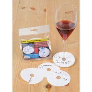 photograph about Printable Wine Glass Tags named Tastings Occasions Archives - Waiters Mate