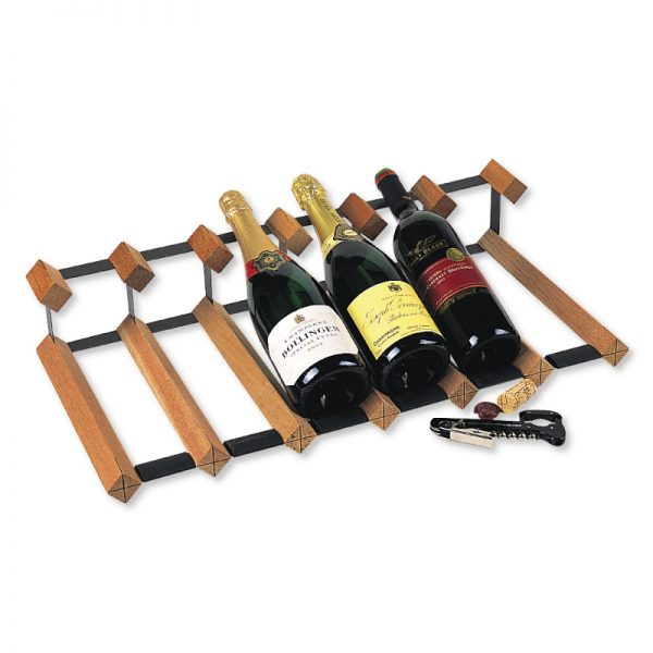 Wooden-Bottle-Display-Racks