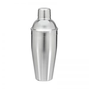 Brushed-Stainless-Steel-Cocktail-Shaker