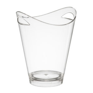 Vista Clear Acrylic Wine Bucket